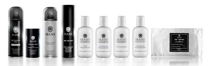 mane product range