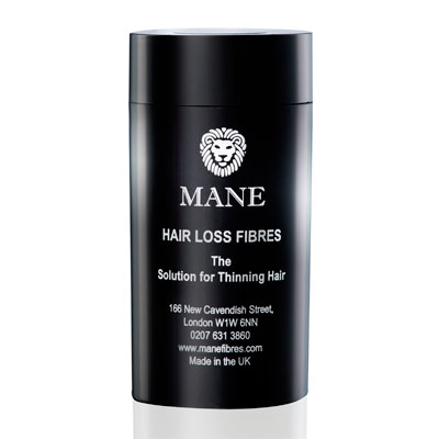 mane hair loss fibres container