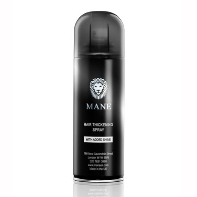 mane hair thickener spray can