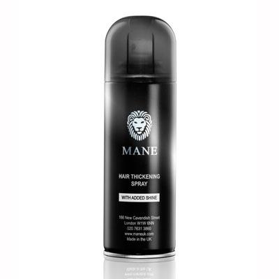 mane hair thickener spray can