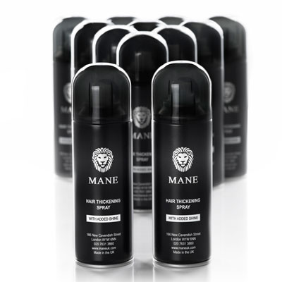 mane hair thickening spray 12 cans