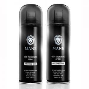 mane hair thickening spray 2 cans