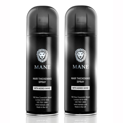 mane hair thickening spray 2 cans