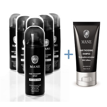 special offer Mane Hair Thickener and shampoo