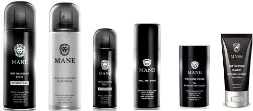 Mane Hair Thickening range 2018