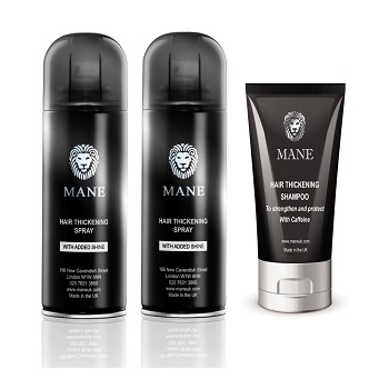 Mane Hair Thickener special offer with shampoo